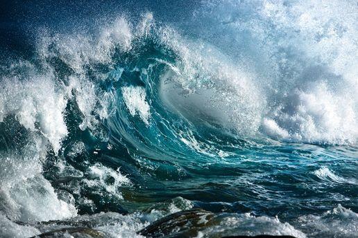Шторм в Атлантичному океані