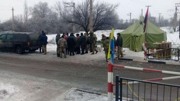 Редут в Кривом Торце захватили представители СБУ