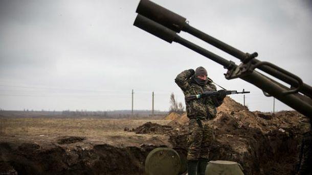 Среди украинских воинов есть раненые