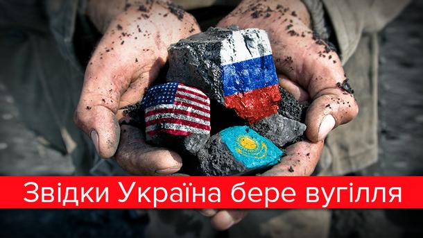 Скільки вугілля Україна купує в Росії