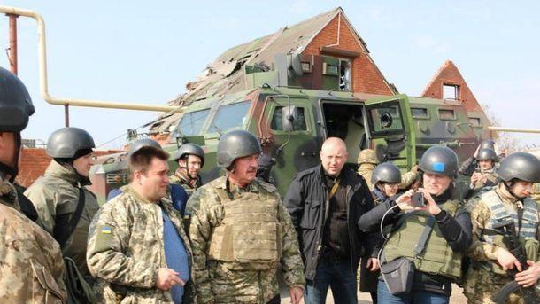 Глава МЗС Люксембургу побував у прифронтовому Широкиному