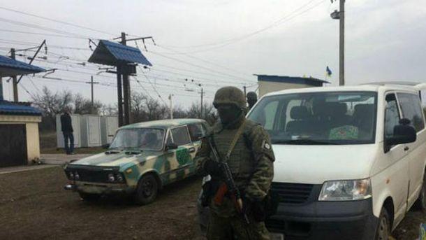 Полиция и СБУ штурмовали редут в Кривом Торце