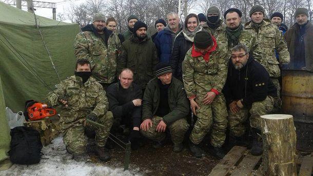 Блокировщики на Донбассе