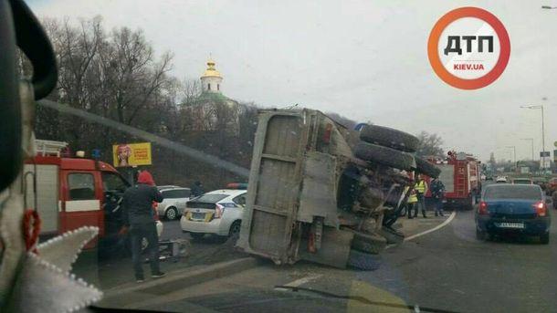 Авария в Киеве