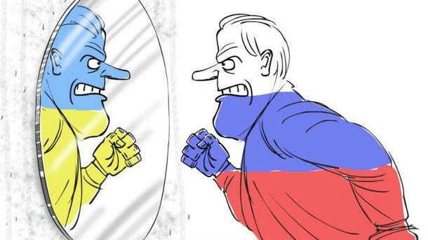 Российско-украинские отношения (Карикатура)