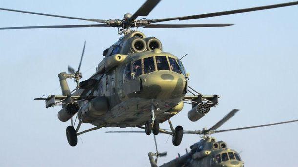 Российский вертолет (Иллюстрация)