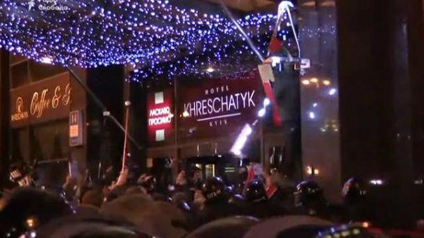 Крім офісу Ахметова, постраждав ще й