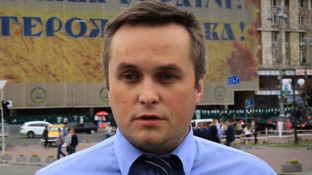 Холодницкий поблагодарил обществу за помощь в задержании Насирова
