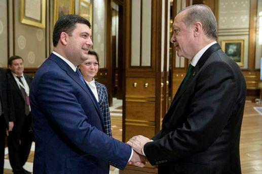 Гройсман і Ердоган