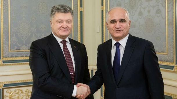 Президент України та Міністр Азербайджану