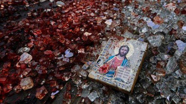 Война в Донбассе отмечается большим количеством жертв