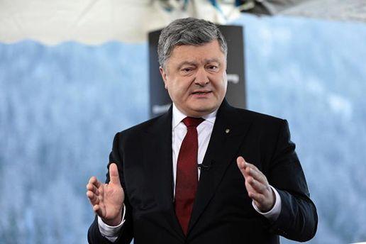 Порошенко розповів, як повернути на Донбасі український суверенітет