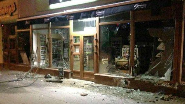 Ночная авария в Львове