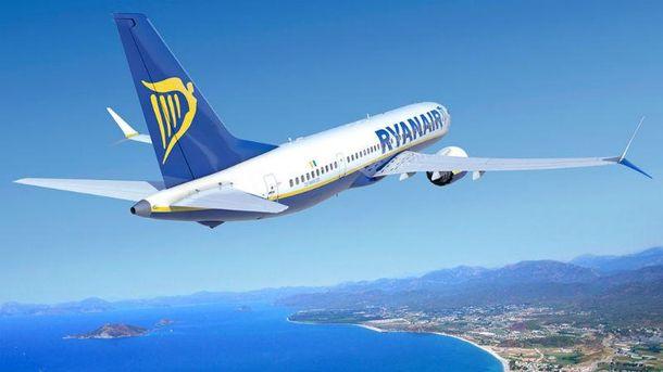 Ryanair літає і в Україну