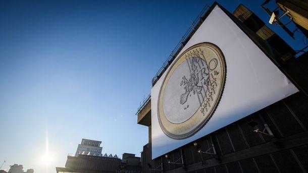 Евро существенно прибавил по сравнению с предыдущим днем