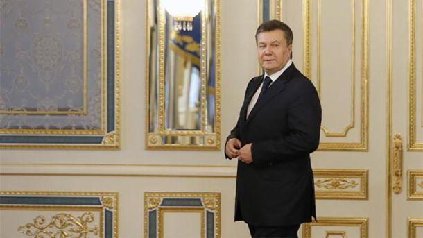 У Виктора Януковича появилась