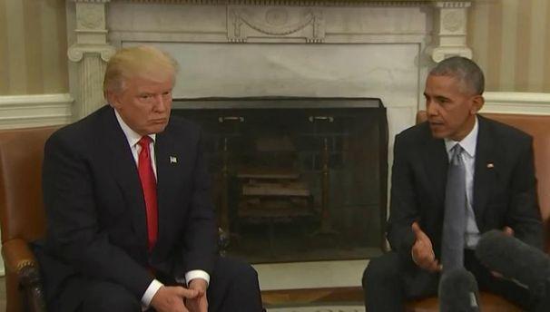 Обама і Трамп