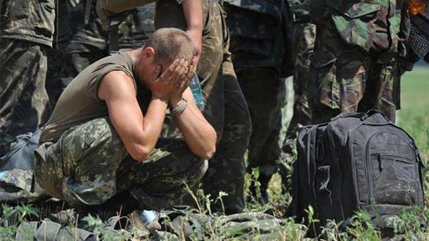 Україна знову зазнає втрат на Донбасі