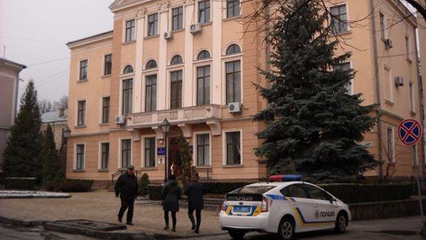 Полиция проводит обыски в Тернопольском горсовете