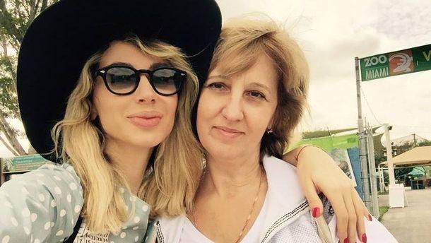 Світлана Лобода і її мама Наталя Лобода