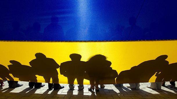 Численность населения Украины падает