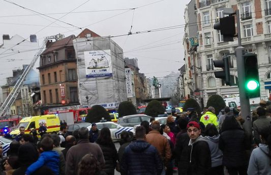 Вибух у Брюсселі