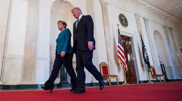 Трамп та Меркель