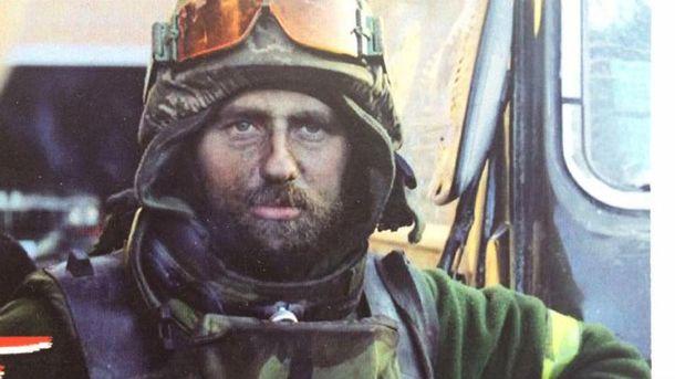 Укранський военный Андрей Нагорный