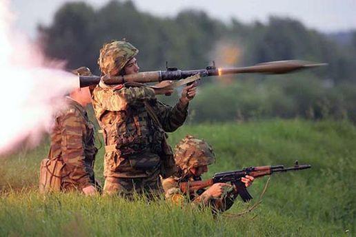 Боевики стреляли из РПГ по позициям бойцов АТО