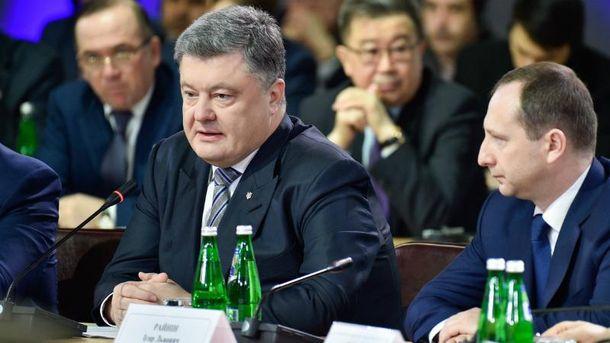 Петро Порошенко на засіданні Ради регіонального розвитку