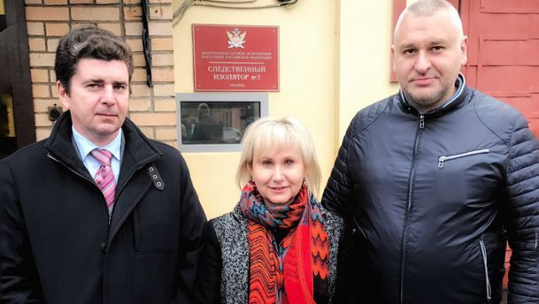 Сущенко разрешили встретиться с женой