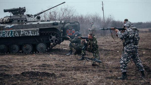 Боевики понесли потери в бою под Водяным