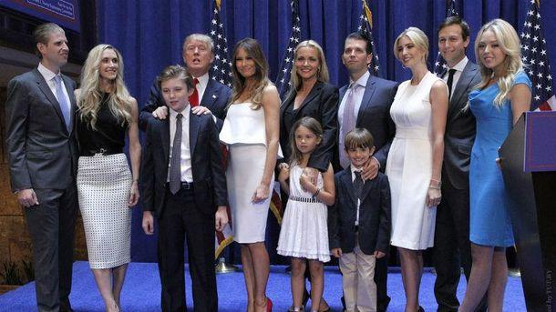 Семья Дональда Трампа