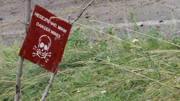 Боевики используют минные поля