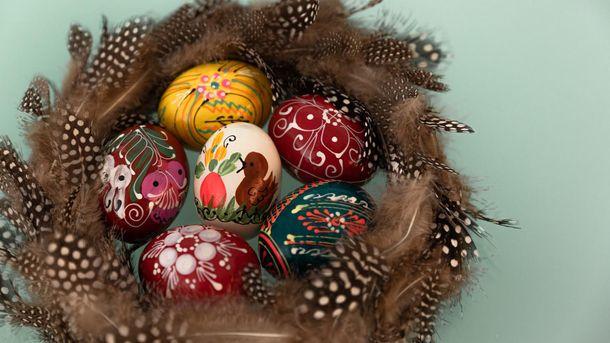 Яйця на Великдень своїми руками