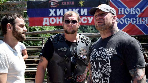 Джеффри Монсон (справа) в Луганске