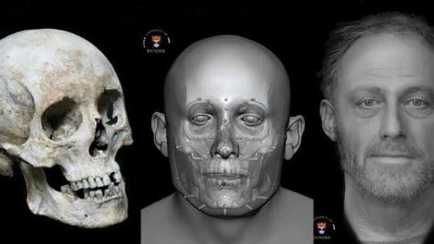 Археологи воссоздали лицо