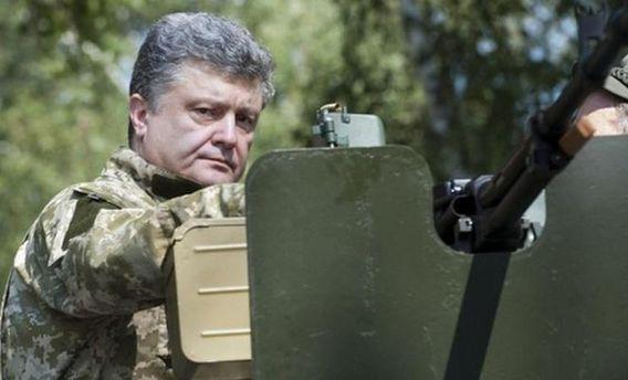 Главнокомандующий Петр Порошенко