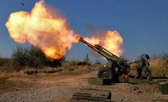 Терористи обстрілюють з артилерії позиції сил АТО