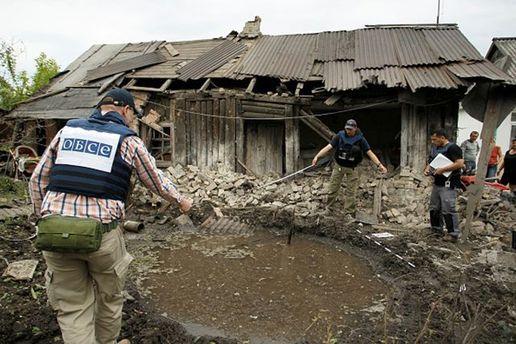В ОБСЄ назвали найгарячіші точки на Донбасі