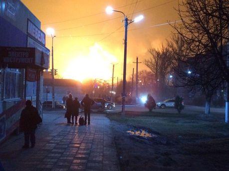 Взрыв на военных складах в Балаклее