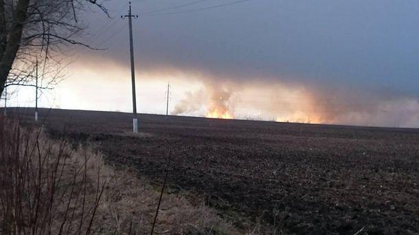 Військові склади вибухають поблизу Балаклії