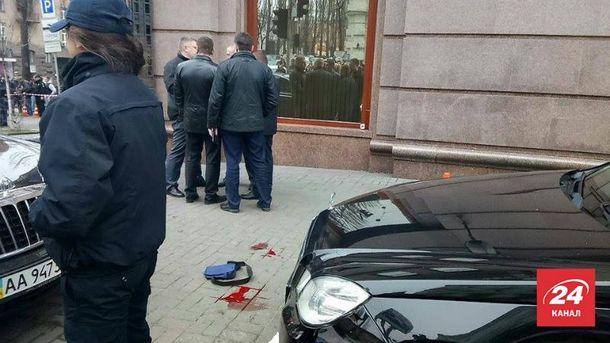 Місце вбивство Дениса Вороненкова