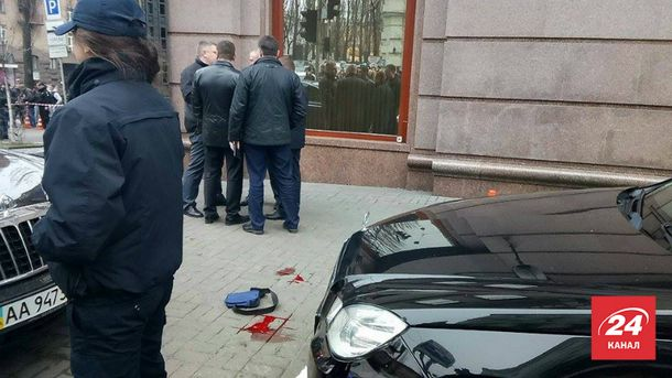 Место убийство Дениса Вороненкова