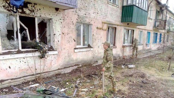 Последствия взрывов на военном складе