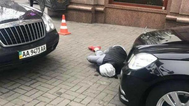 Кілера підстрелив охоронець Вороненкова