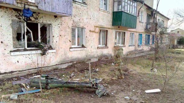 Последствия взрывов на складах боеприпасов