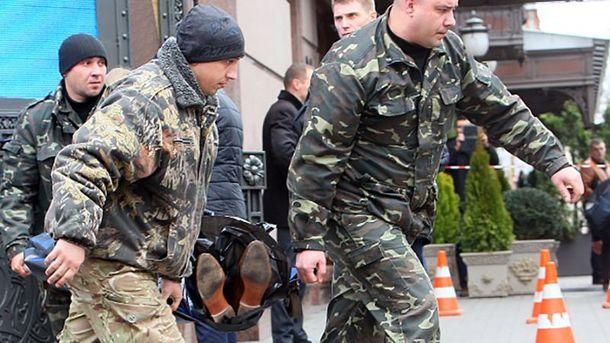 На місці вбивства Дениса Вороненкова