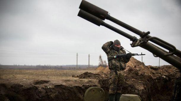 Троє українських воїнів було поранено