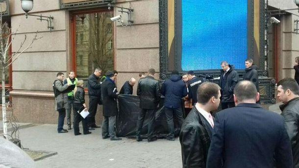 Фото с места убийства Вороненкова